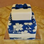 Blue & White Applique