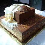 Chocolate Bar Mitzvah Cake