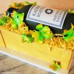 KRT wine bottle cake