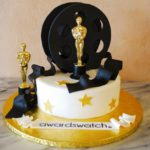 Oscar themed cake