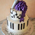 Music Themed Birthday Cake
