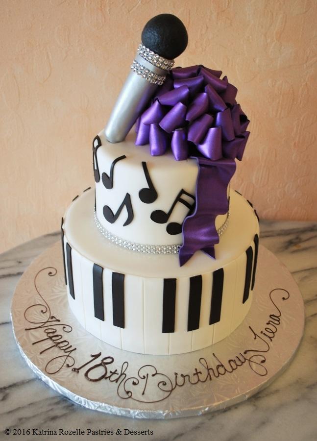 Superb Music Themed Birthday Cake Funny Birthday Cards Online Alyptdamsfinfo