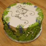 Garden Themed Birthday Cake