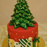 Marie's Chocolate-Filled Christmas Tree Cake