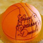 Marzipan, Basketball Cake