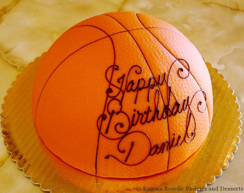 Cake Images Basketball : 800px