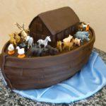 Noah's Ark Bar Mitzvah Cake