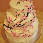Pink Blossoms on Buttercream