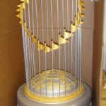 World Series Trophy Bar Mitzvah Cake
